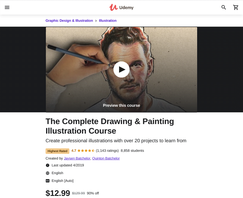 Illustration Course by Udemy