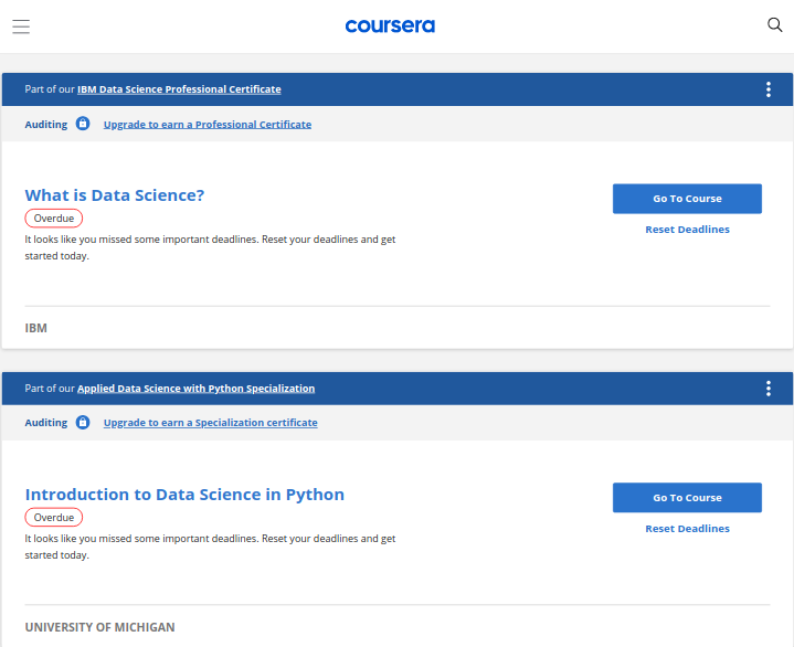 A barrier to succeed in online courses is to enroll in many courses at once